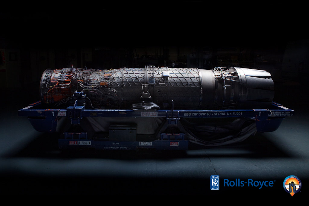 EJ200 Engine Rolls-Royce Bloodhound