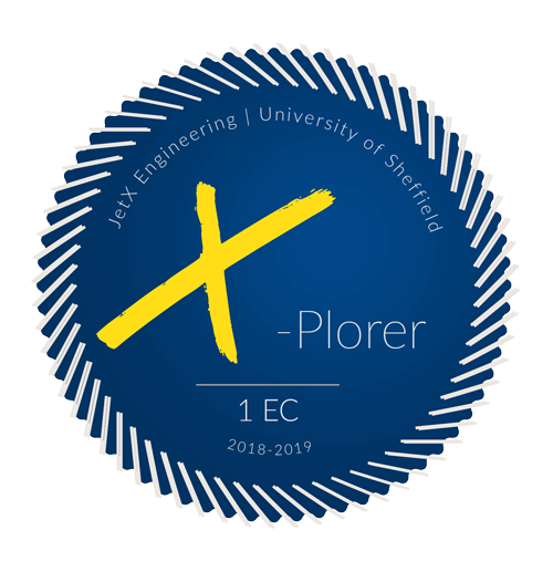 X-Plorer 1 EC Badge